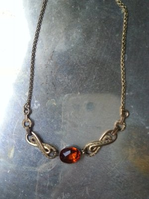Collier Necklace gold-colored-russet
