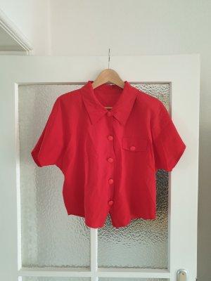 True Vintage Cropped Bluse