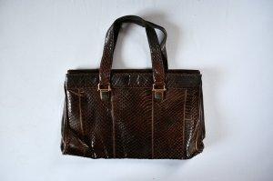 True Vintage Handtasche Echtleder Ledertasche Preppy Klassisch Elegant