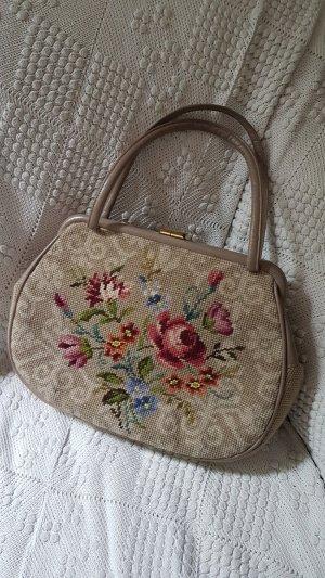 True Vintage Handtasche,  Gobelin, Stickerei, Petit Point