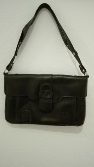 Vintage Carry Bag black leather