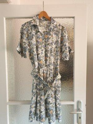 Vintage Abito blusa camicia multicolore