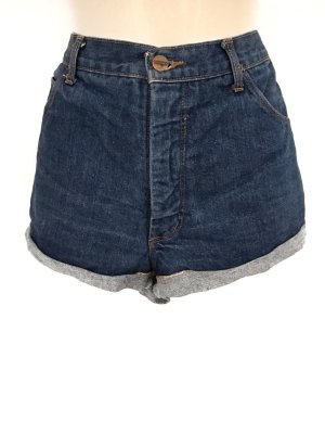 True Vintage Highwaist Shorts Jeans Denim Wrangler Hippie Boho Style