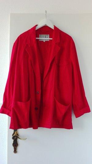 True Vintage Jacke Blazer Hemd Gr. 50 XL L 40 oversize Blouson S M
