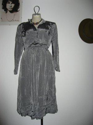 True Vintage Jumpsuit silber-grau