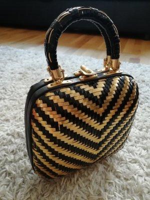 True Vintage Korbtasche Hardcase Handmade