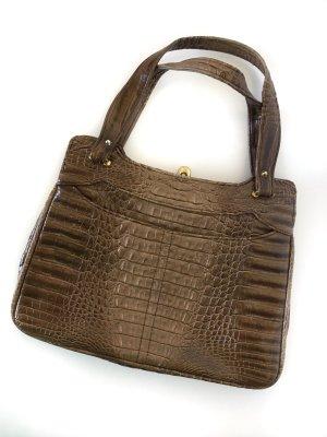 Handbag light brown-brown