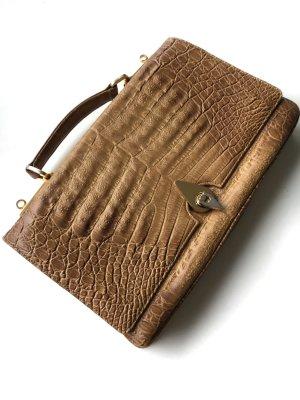 Handbag camel-brown