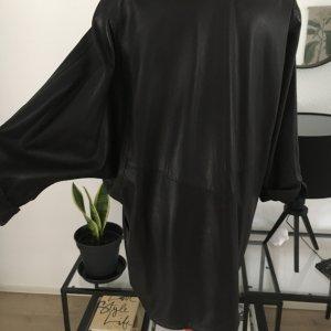 beclaimed vintage Veste en cuir noir