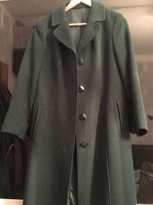 Manteau en laine vert forêt