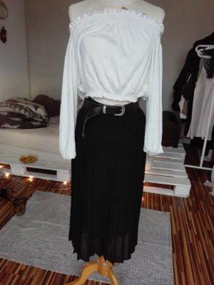 Vintage Midi-rok zwart