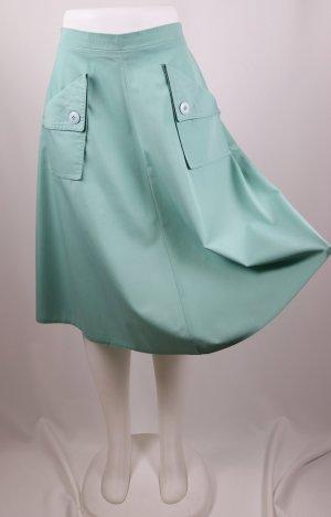 Vintage Falda circular multicolor Algodón