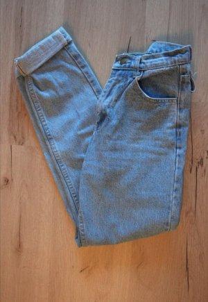 Vintage Hoge taille jeans azuur