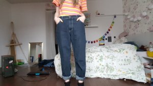 True Vintage Mustang High Waist Mom Jeans Hose