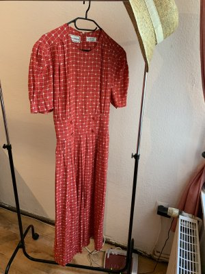 Vintage Midi Dress multicolored viscose