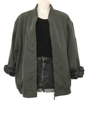 Blusón gris verdoso-caqui