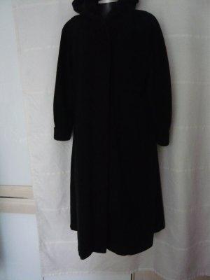 Oversized Coat anthracite-dark grey wool