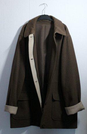 True Vintage, oversized, warmer Wollmantel / Mantel / Jacke