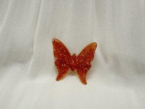 true Vintage Schmetterling Brosche mit Glimmer