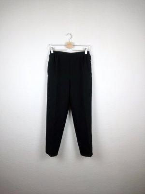 7/8 Length Trousers black-white