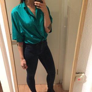 True Vintage Seiden Bluse Shirt Oversized
