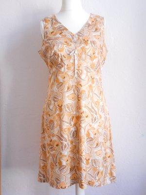 Vintage Off the shoulder jurk veelkleurig