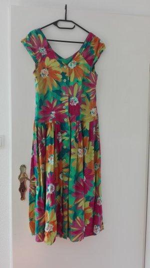 True Vintage Sommerkleid Maxikleid langes Kleid