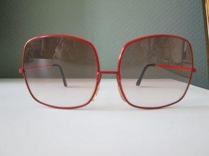 Angular Shaped Sunglasses dark red