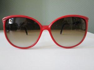 True Vintage Sonnenbrille 80er Jahre rot/marine