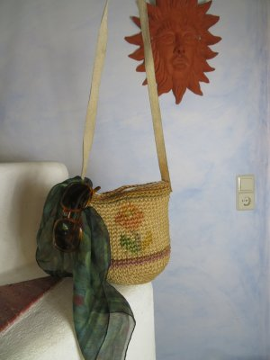 Vintage Hobos multicolored textile fiber