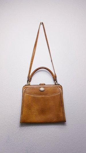 Goldpfeil Crossbody bag cognac-coloured