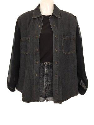 Denim Shirt anthracite-dark grey