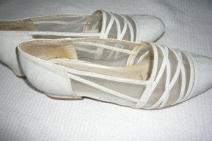 true vintage weisse Schuhe, Gr 41