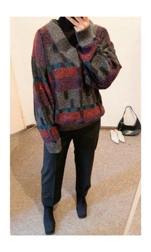 Vintage Christmasjumper multicolored wool
