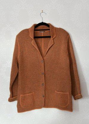 True Vintage Wollmantel Jacke Blazer Cardigan Kaschmir Schulterpolster