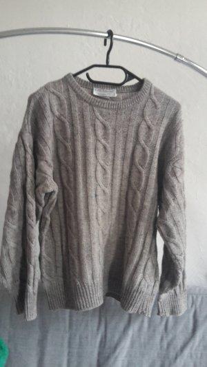 True Vintage Zopfmuster Strickpullover Pullover XXL