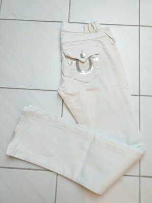 True Religion Slim Jeans white
