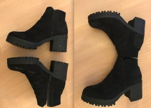 Truffle Boots Ankles Ankleboots Anklebooties Booties Fake Suede Profil Plateau 40