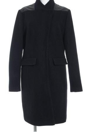 Truly by Part Two Abrigo de invierno negro estilo clásico