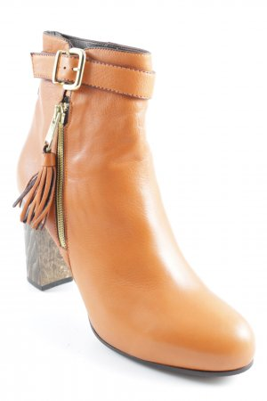 Truman's Ankle Boots dunkelorange-goldfarben Street-Fashion-Look