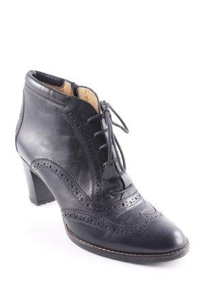 Truman's Zapatos Budapest negro look vintage