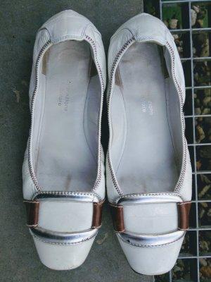 Truman's Lackleder Schuhe weiß Sommer