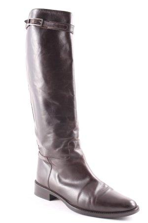 Truman's Hoge laarzen donkerbruin casual uitstraling
