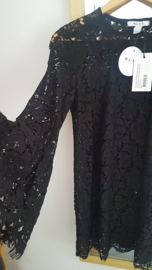 Trumpet Sleeve Lace Dress NA-KD