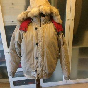 Trussardi Daunen Jacke mit Fell top Zustand