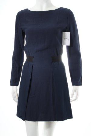Trussardi Etuikleid dunkelblau-schwarz klassischer Stil