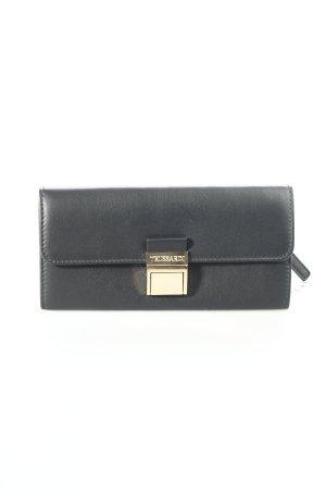 Trussardi Geldbörse schwarz Eleganz-Look