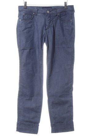Trussardi Jeans 7/8 Jeans stahlblau Jeans-Optik