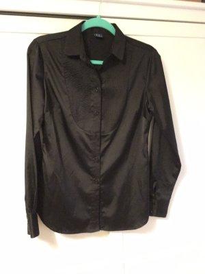 Trussardi Jeans Blouse brillante noir polyester