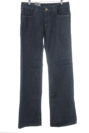 """Trussardi Jeans Vaquero de corte bota """"121 Wide"""" azul oscuro"""